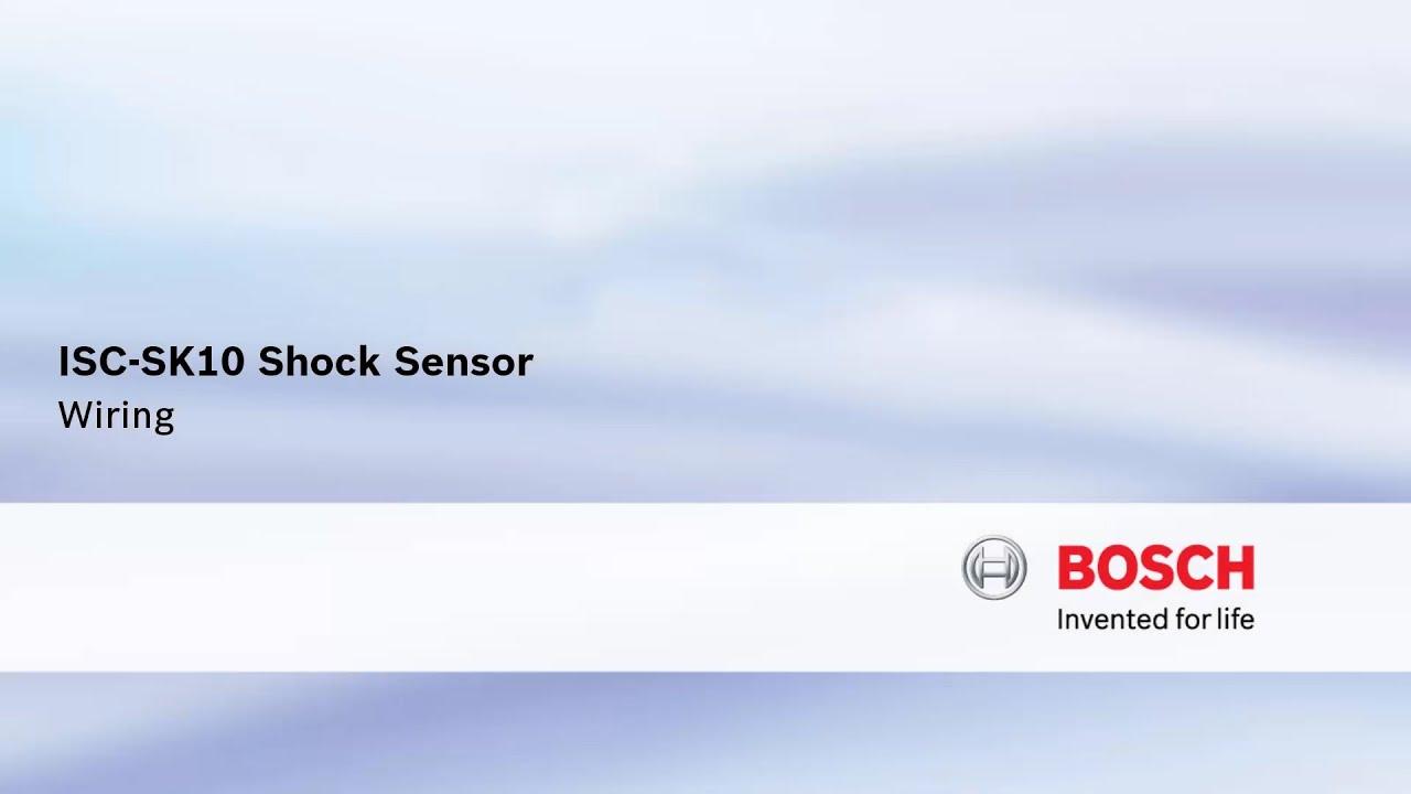 bosch security logo. bosch security - isc-sk10 shock sensor logo