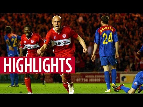 MATCH HIGHLIGHTS | Boro 4, Steaua Bucharest 2, April 2006