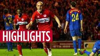 MATCH HIGHLIGHTS Boro 4, Steaua Bucharest 2, April 2006