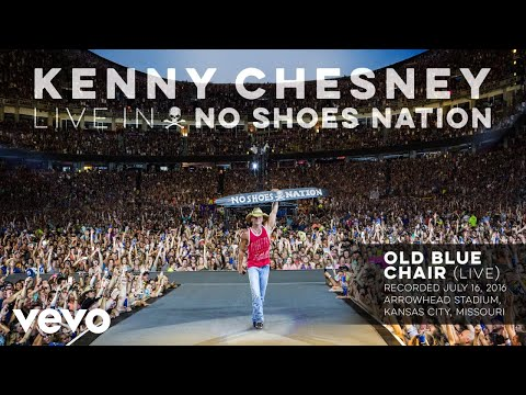 Kenny Chesney - Old Blue Chair (Live) (Audio)