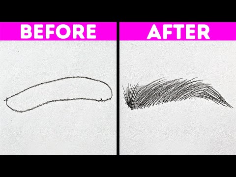 31 COOL TIPS TO IMPROVE YOUR DRAWING SKILLS