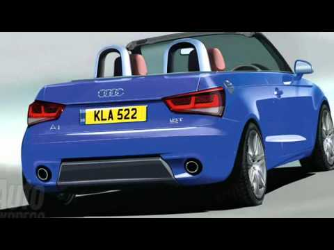 2012 Audi A1 Cabriolet Preview - YouTube