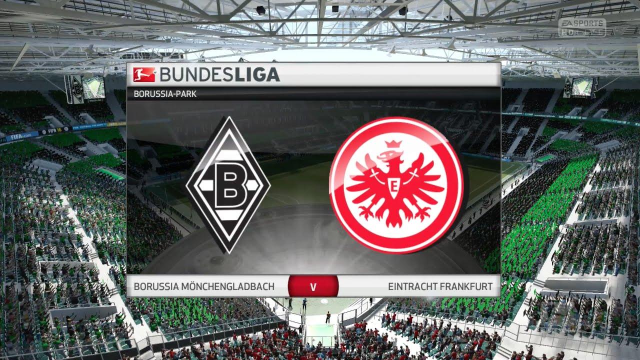 Borußia Mönchengladbach Eintracht Frankfurt