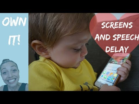 Screen Time and Children - Link to Speech Delay