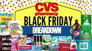 CVS BLACK FRIDAY BREAKDOWNS 2018! Hot Freebies & Money Makers!