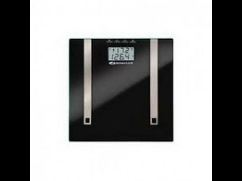 FitDango - Taylor 5728 Bowflex Body Fat Scale Glass