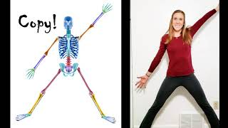 """Mr. Bones"" Body Awareness Online Learning Activity! 🦴"
