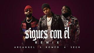 Sigues Con Él Remix - Arcangel X Sech X Romeo Santos ( Video Oficial )