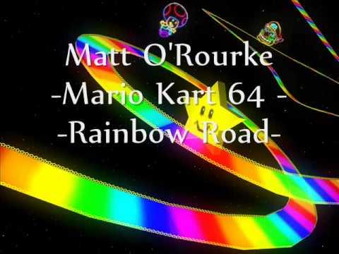 Mario Kart 64 - Rainbow Road metal cover Mp3