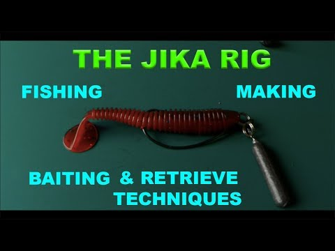 The Jika Rig - Tips And How To Make, Fish.