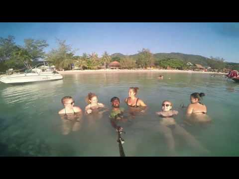 Gulf of Thailand -  backpacking trip island koh Samui,  koh Tao, koh phagan