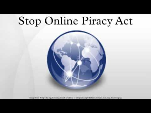 Stop Online Piracy Act Mp3