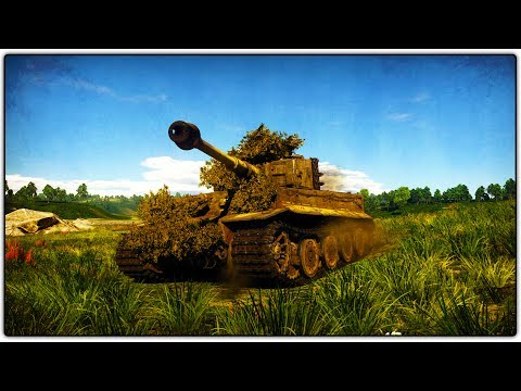 BOX TANK | Tiger E (War Thunder RB Gameplay)