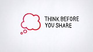 Tip 1: Think Before You Share