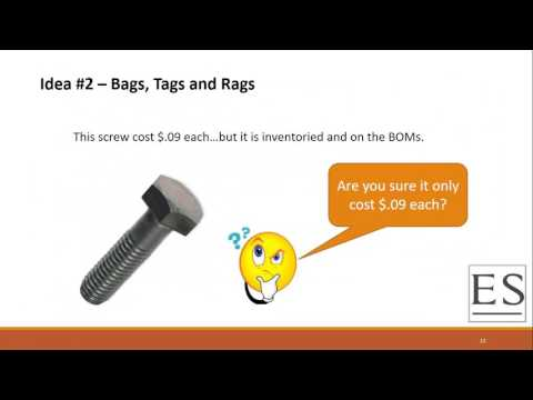 """APICS Southeast District Webinar: """"3 Practical Ideas to Reduce Inventory"""""""