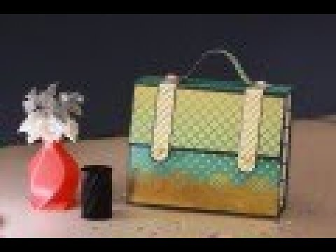 Royal Briefcase Album    Suitcase Album    Handmade Scrapbook Ideas #19