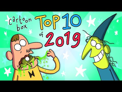 Cartoon Box Top 10 Of 2019 | The BEST Of Cartoon Box | Hilarious Cartoon Compilation By FRAME ORDER