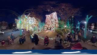 Видео 360: Рождество в Дайкер-хайтс (это ОЧЕНЬ красиво!)