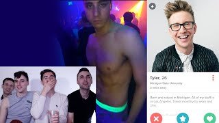 TYLER OAKLEY SWIPED LEFT ON ME | Gays Go To Hollywood