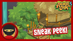 Jungle Treehouse Sneak Peek! - Animal Jam