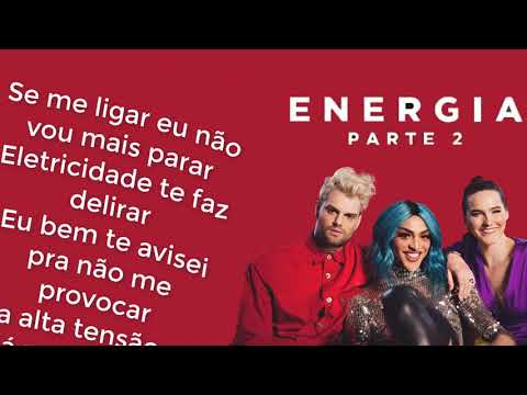 SOFI TUKKER - Energia (feat. Pabllo Vittar)// LETRA