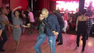 AMNERIS MARTINEZ & ADOLFO INDACOCHEA SALSA DANCE AT SEATTLE SALSA CONGRESS 2018