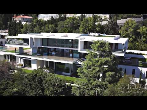 Luxury Contemporary Property for Sale in Cannes Californie (Full Tour)
