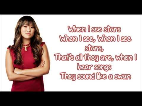 Glee - Some Nights (Lyrics)
