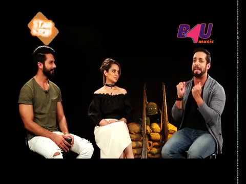 Rangoon | Shahid Kapoor, Kangana Ranaut | Exclusive Interview | B4U Star Stop