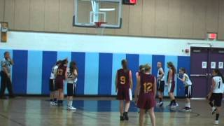 Pembroke vs Weymouth, Grade 7 Girls' Travel Basketball