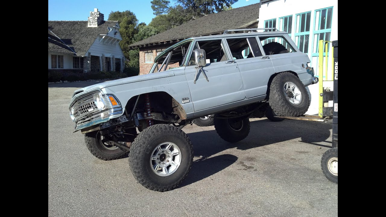 Jeep Grand Wagoneer >> jeep grand wagoneer linked coilovers vortec v8 swap - YouTube