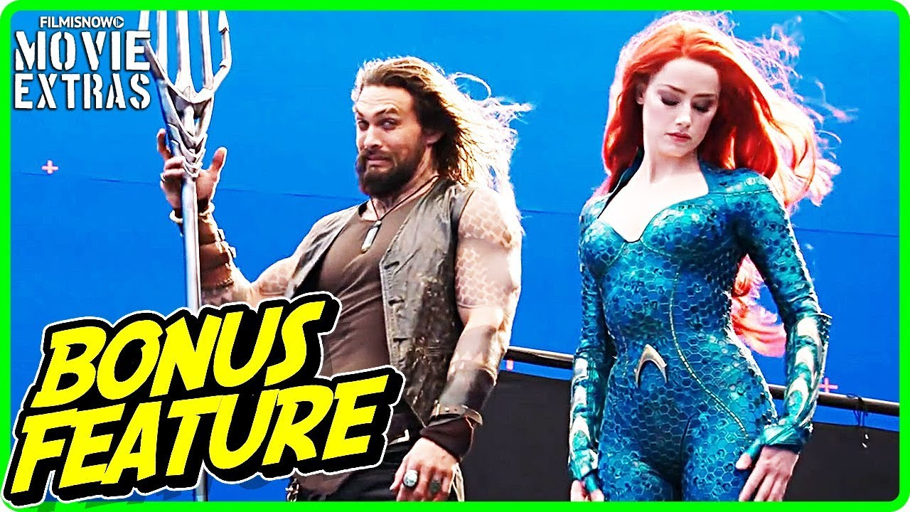 AQUAMAN | Fun on Set with Jason Momoa and Amber Heard Featurette [Digital/Blu-Ray/DVD 2019]