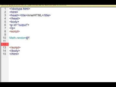 Javascript Random Numbers