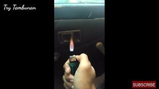 Cara Membuat Api Melayang [Trik Sulap]
