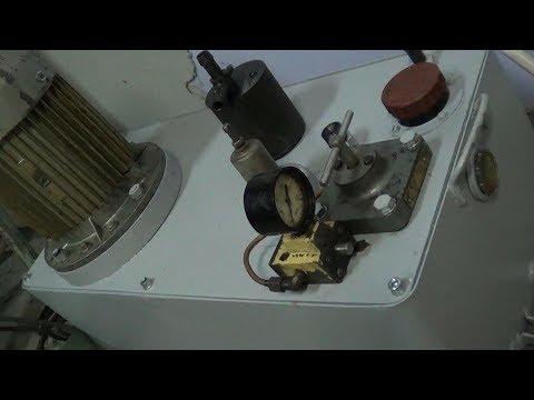 Плоскошлифовальный станок 3Г71М (Часть 3) Маслостанция рабочего стола