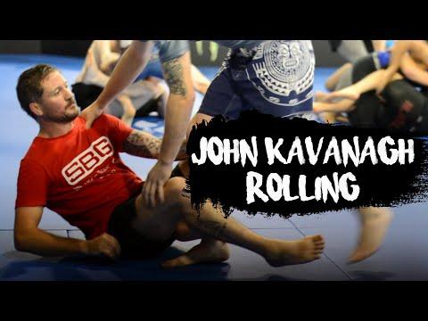 Coach John Kavanagh Rolling In His BJJ Class