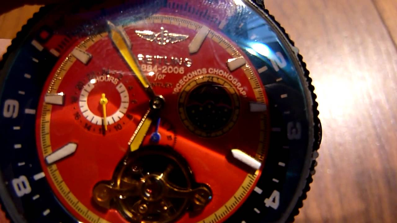 Breitling For Bentley >> Breitling A68062 - YouTube