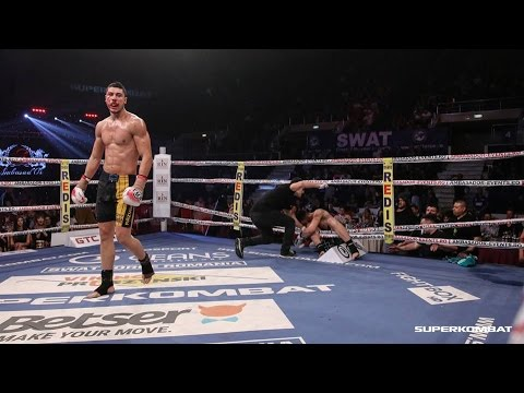 Brutal KO's in Superkombat 2016 - Best knock-outs of the year
