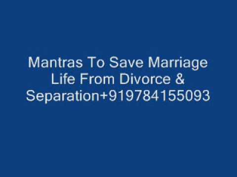 is separation good to save a marriage