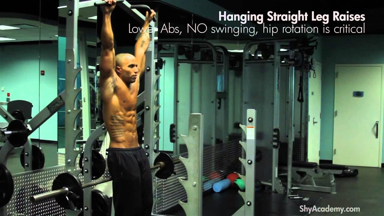 Abs Hanging Leg Raises
