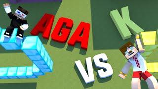Aga vs K - Gold vs Diamond Haritasında Kapışıyoruz !!