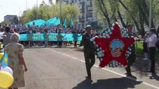 70 лет Дню победы Степногорск 2015 часть 1