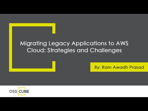 Migrating Legacy Applications to AWS Cloud: Strategies and Challenges