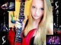 Gitaris Cewek Cantik Beraksi Unjuk Skill Rock Keren