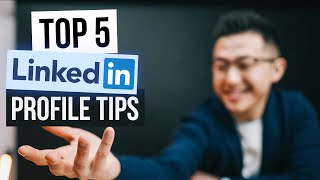 Top 5 LinkedIn Profile Tips! (2021) screenshot 1
