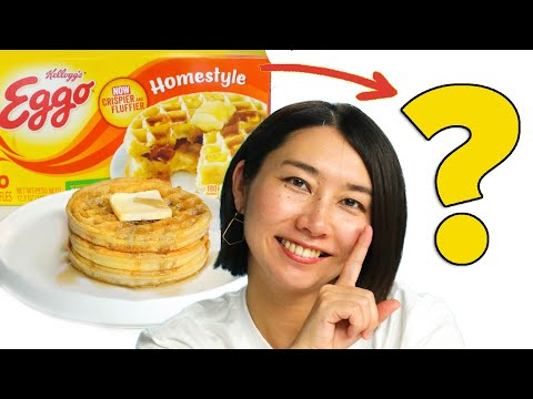 Can This Chef Make Eggos Fancy? • Tasty