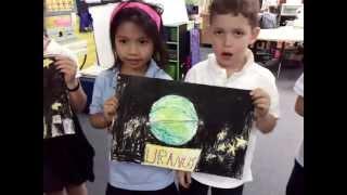 Solar System Song- First Grade