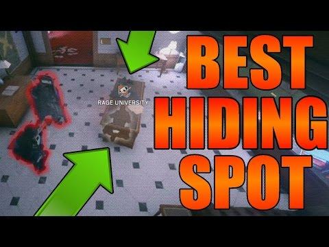 Best Hiding Spot on Bartlett University - Rainbow Six Siege