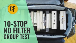 10-Stop ND Filter Group Test: 16 different filters reviewed and compared