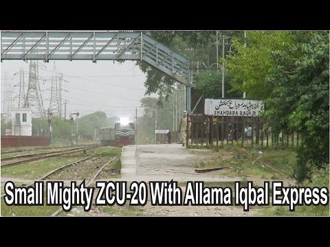 small-mighty-zcu-20-6411-lead-9up-allama-iqbal-express-long-train-&-arrival-shahdrah-bagh-junction